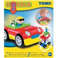 Tomy-Masinuta plastic puzzle 18+ luni