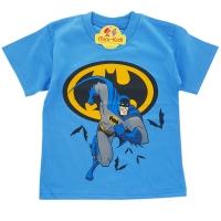 Tricou baieti 3-8 ani, Batman, albastru