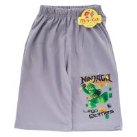 Pantaloni scurti baieti 4-9 ani, NinjaGo, gri