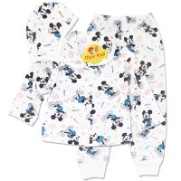 Pijamalute bebelusi 3-12 luni, Mickey Mouse, albastru