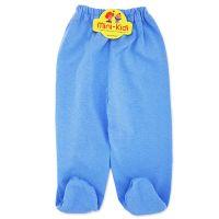 Pantaloni cu botosei, bleu, bebelusi 0-12 luni