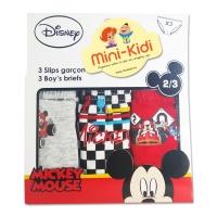 Chiloti baieti 1-5 ani, pachet 3 perechi, Mickey Mouse