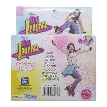 Chiloti fetite 5-12 ani, pachet 3 perechi, Soy Luna