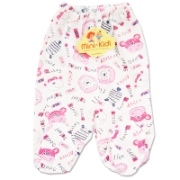 Pantaloni cu botosei bebelusi 0-6 luni, safari