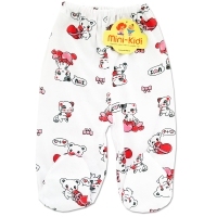 Pantaloni cu botosei bebelusi 0-12 luni, pisicute