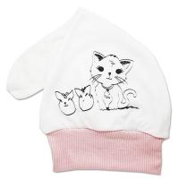 Fes bebelusi 1-3 luni, pisicute, mot lung, alb-roz