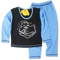 Pijamale baieti 1-4 ani, ursuletul somnoros