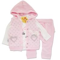 Trening fetite 3-9 luni, iepuras, roz