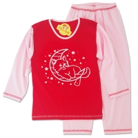 Pijamale fetite 1-4 ani, pisicuta