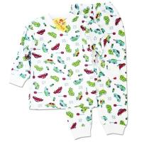 Pijamale copii 3-11 ani, masinute in trafic
