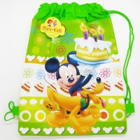 Sac sport copii 36x27 cm, Mickey Mouse & Pluto