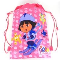 Sac sport copii 36x27 cm, Dora pe schiuri