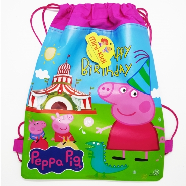 Sac sport copii 36x27 cm, Peppa Pig