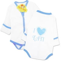 Body mesaj,nou nascuti 0-1 luni, I love tati