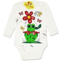 Body bebelusi 1-12 luni, broscuta-crem