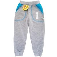 Pantaloni trening copii 6 luni-5 ani, cifre, gri