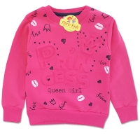Bluza fetite 3-7 ani, imprimeu 3D, Love Princess