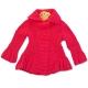 Jacheta tricotata fetite 3-12 luni, fuchsia