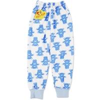 Pantaloni grosuti copii 1-3 ani, ursuleti, albastru