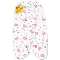Pantaloni grosuti cu botosei bebelusi 0-12 luni, fluturasi