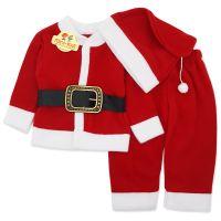 Costum Mos Craciun copii 0-6 ani, polar