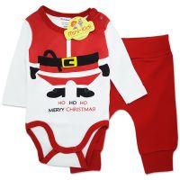 Costum Craciun bebelusi 0-9 luni, Ho Ho Ho Merry Christmas