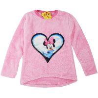 Bluza groasa din cocolino fetite 6-10 ani, roz