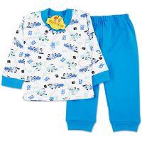 Pijamale bumbac pieptanat baieti 9 luni-7 ani, masinute