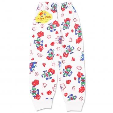Pantaloni bumbac grosut bebelusi si copii 0-3 ani, avioane