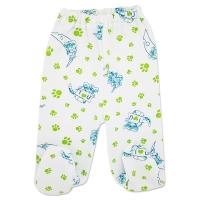 Pantaloni bumbac grosut cu botosei bebelusi 1-6 luni, tigrisori
