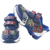 Pantofi sport cu lumini in talpa, baieti, marimi de la 21.5 la 31, Spiderman