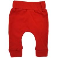 Pantaloni cu turul lasat din bumbac pieptanat, bebe 0-18 luni