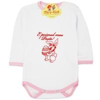 Body mesaj E primul meu Paste din bumbac pieptanat, bebe 0-18 luni