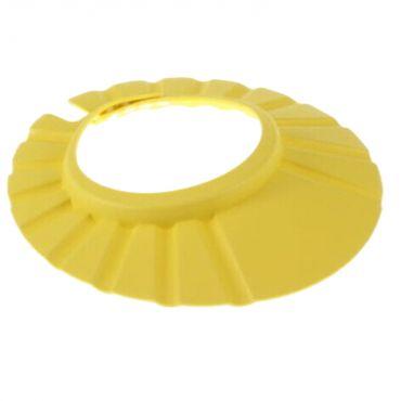 Protectie cap bebelusi pentru baie, galben