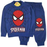 Trening baieti 1-6 ani, Spiderman, bleumarin