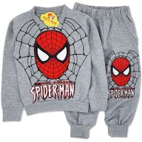 Trening baieti 1-6 ani, SpiderMan, gri