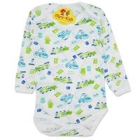 Body bumbac subtire bebelusi 0-12 luni, masinute