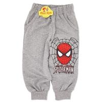 Pantaloni de trening baieti 1-3 ani, Spiderman, gri