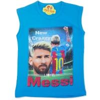 Maiou bumbac baieti 7-12 ani, Lionel Messi