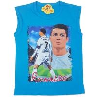 Maiou bumbac baieti 7-12 ani, Ronaldo