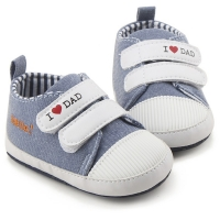 Pantofiori bebelusi 0-15 luni, love dad