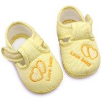 Botosei bebelusi 0-9 luni, inimioare, galben
