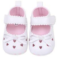 Balerini albi, bebelusi fetite 0-12 luni, inimioare
