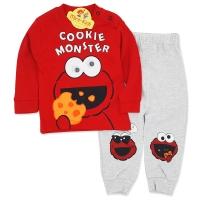 Trening bumbac bebelusi 3-12 luni, cookie monster