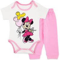 Costumas bumbac bebelusi 1-6 luni, Minnie Mouse