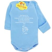 Body bleu nou nascuti 0-1 luni,rugaciune