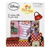 Set 3 perechi chiloti fetite 1-8 ani, Minnie Mouse