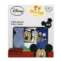 Set 3 perechi chiloti baieti 1-8 ani, Mickey Mouse
