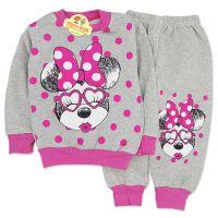 Trening gros, fetite 9 luni-4 ani, Minnie Mouse, gri
