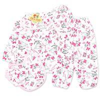 Costumas bebelusi 1-9 luni, 5 piese, pisicute